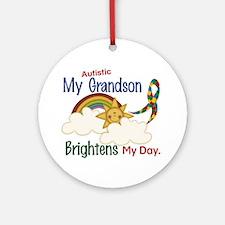 Brighten World 1 (A Grandson) Ornament (Round)
