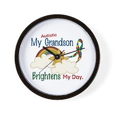 Brighten World 1 (A Grandson) Wall Clock