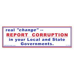 Report Corruption (Bumper 10 pk)