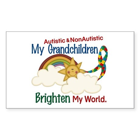 Brighten World 1 (A &Non/A Grandchildren) Sticker