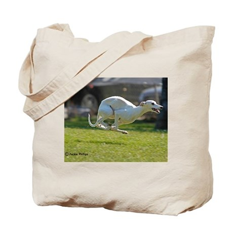 Whippet Image 3 Tote Bag