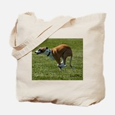 Whippet Image 4 Tote Bag