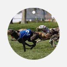 Whippet Image 6 Ornament (Round)