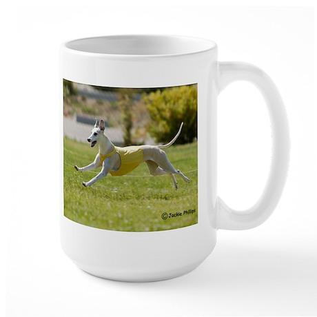 Whippet Image 13 Large Mug