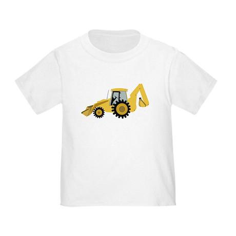 Backhoe Toddler T-Shirt