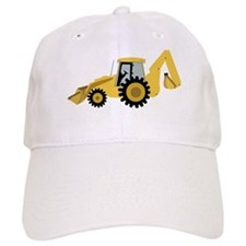 Backhoe Baseball Cap