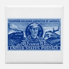 Postage stamps Tile Coaster