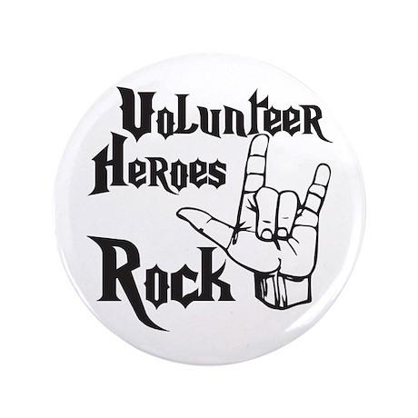 """Volunteer Heros 3.5"""" Button (100 pack)"""