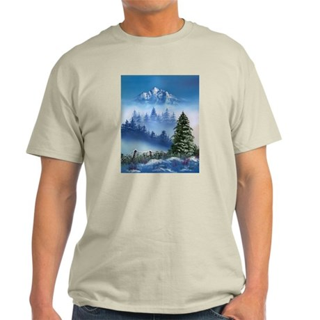 Mountain Winter Light T-Shirt