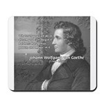 Power of Dreams: Goethe Mousepad