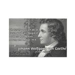 Power of Dreams: Goethe Rectangle Magnet