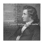 Power of Dreams: Goethe Tile Coaster