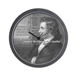Power of Dreams: Goethe Wall Clock