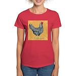 Dominique Chicken Hen Women's Dark T-Shirt