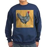Dominique Chicken Hen Sweatshirt (dark)