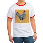 Dominique Chicken Hen Ringer T