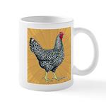 Dominique Chicken Hen Mug