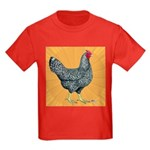 Dominique Chicken Hen Kids Dark T-Shirt