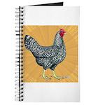 Dominique Chicken Hen Journal