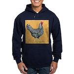Dominique Chicken Hen Hoodie (dark)