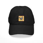 Dominique Chicken Hen Black Cap