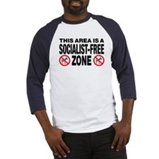 This Area Is A Socialist-Free Zone Baseball Jersey