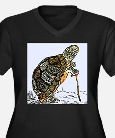 Our wise old friend the turtle Plus Size T-Shirt