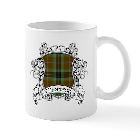 Thomson Tartan Shield Mug