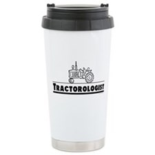 Funny Tractor Thermos Mug
