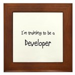 I'm training to be a Developer Framed Tile