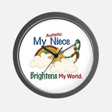 Brighten World 1 (A Niece) Wall Clock