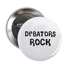 DEBATORS ROCK Button