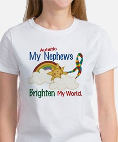 Brighten World 1 (A Nephews) Women's T-Shirt