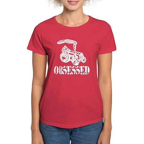 Tractor Obsessed Women's Dark T-Shirt