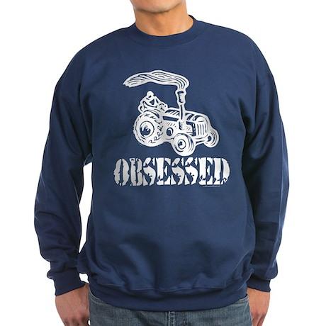 Tractor Obsessed Sweatshirt (dark)