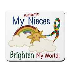 Brighten World 1 (A Nieces) Mousepad