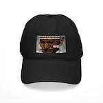 Peace Activist Gandhi Black Cap