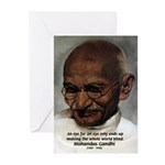 Peace Activist Gandhi Greeting Cards (Pk of 10