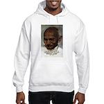 Peace Activist Gandhi Hooded Sweatshirt