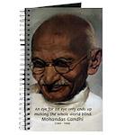 Peace Activist Gandhi Journal