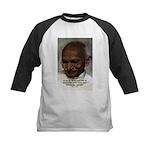 Peace Activist Gandhi Kids Baseball Jersey