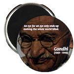 Peace Activist Gandhi Magnet