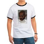 Peace Activist Gandhi Ringer T
