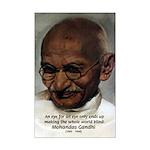 Peace Activist Gandhi Mini Poster Print
