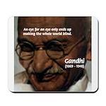 Peace Activist Gandhi Mousepad
