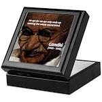 Peace Activist Gandhi Keepsake Box