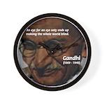 Peace Activist Gandhi Wall Clock