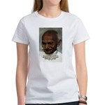 Peace Activist Gandhi Women's T-Shirt