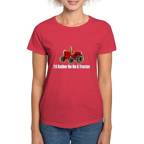Funny Tractor Women's Dark T-Shirt