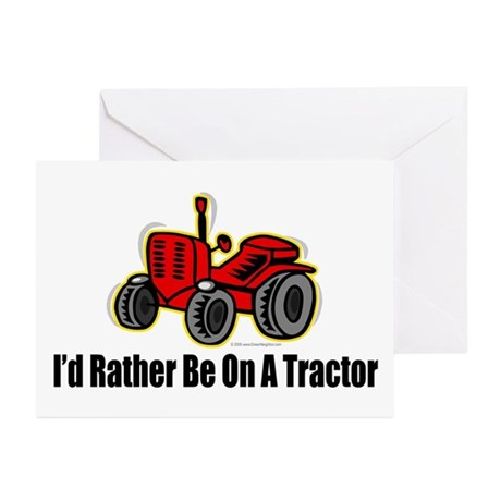Funny Tractor Greeting Cards (Pk of 20)